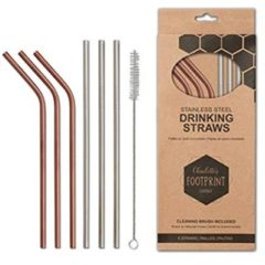 eco-friendly stainless steel drinking straws