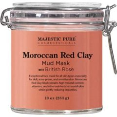 Morroccan red clay face mask