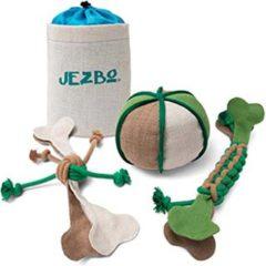 plastic-free dog-chew toys by Jezbo